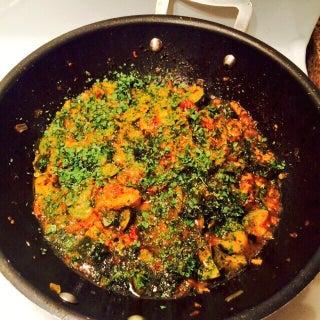 Tauri Di Sabzi (zucchini Sabzi)