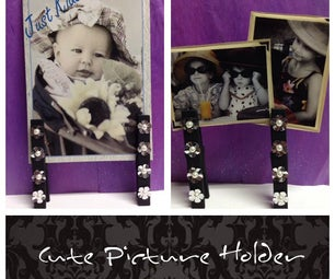 Clothespin Picture Holders