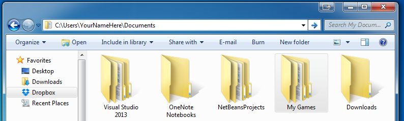 Locate the Game Save Files - Windows