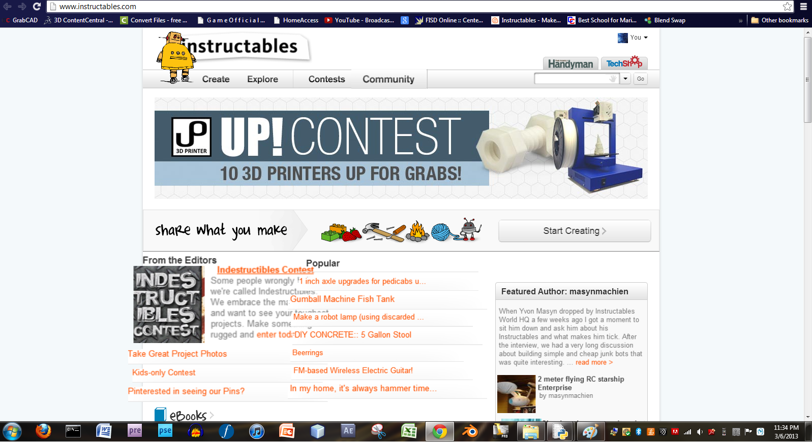 Harlem Shake Instructables (or any site)