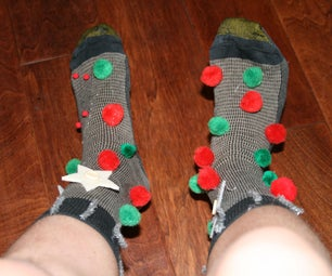 Ugly Christmas Socks.