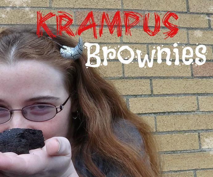 Krampus Brownies