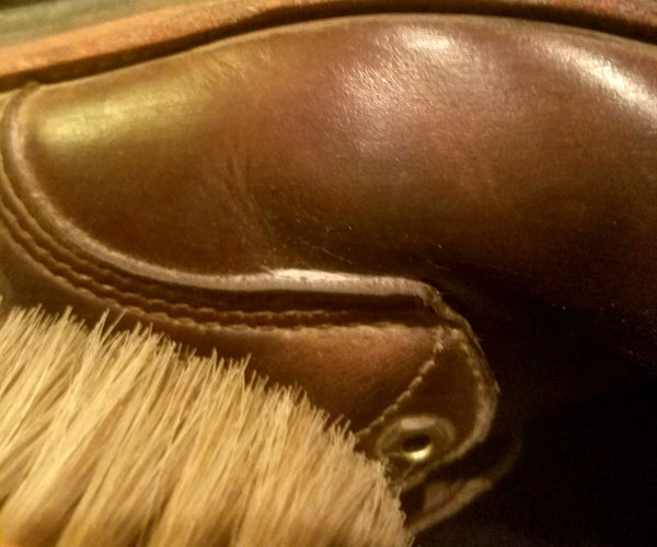 Cleaning and Polishing Leather Shoes