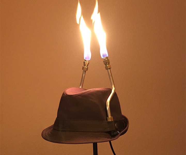 Flaming Fedora