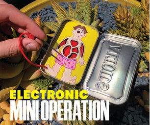 Electronic Pocket Operation in an Altoids Tin