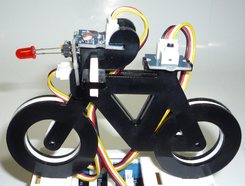 Smart Bicycle Lights
