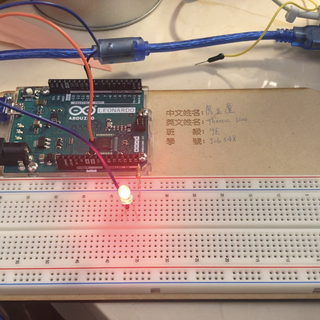 Fading LED With Arduino Analog Output in Tinkercad