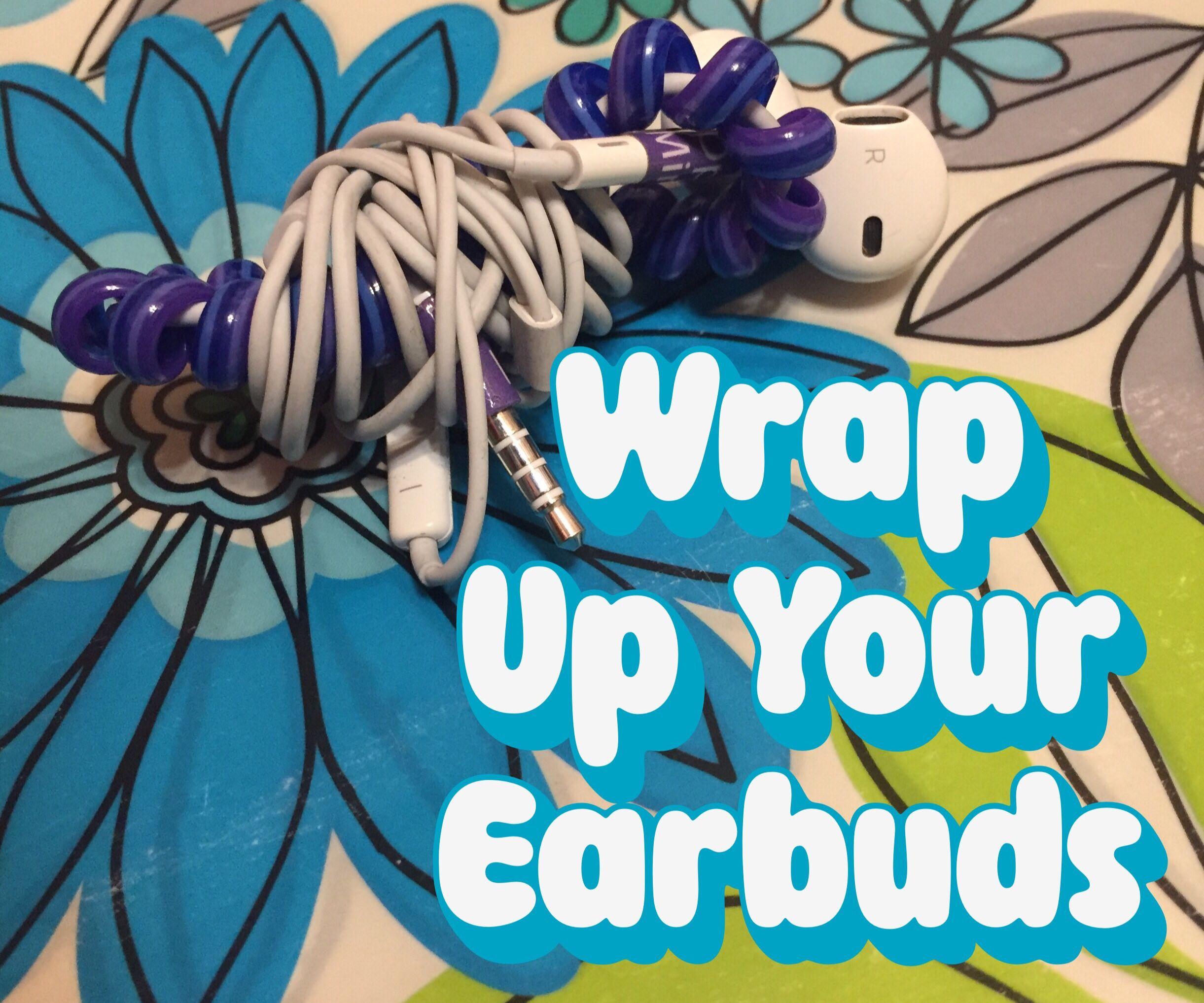 Earbud Wrap Cord