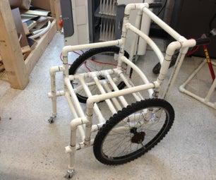 PVC Wheelchair,(1 Inch Pipe)