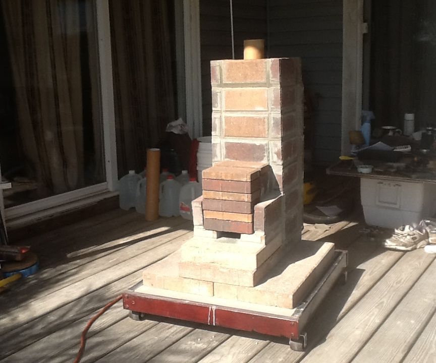 Rustic Rocket Stove - How I Made Mine