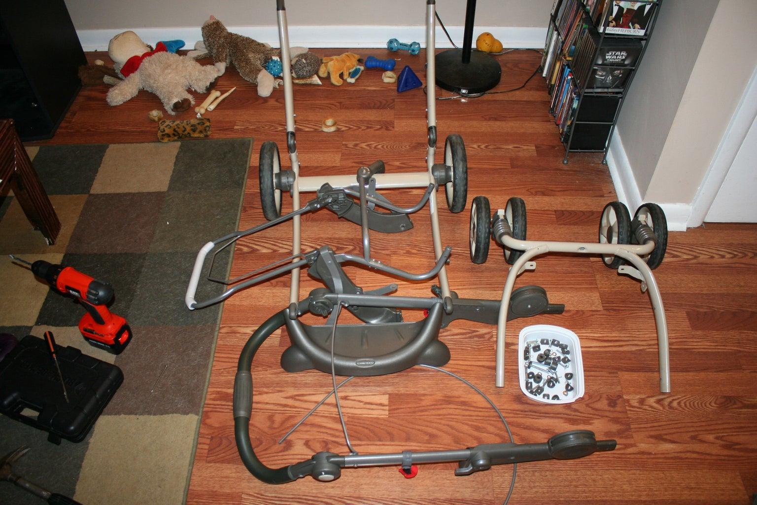 Step 1: Disassembling the Stroller