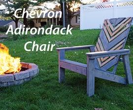 Chevron Adirondack Chair