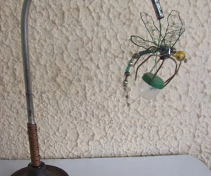 LIBELULAMP. USB DRAGONFLY LAMP.