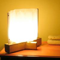 Low-Footprint Lamp