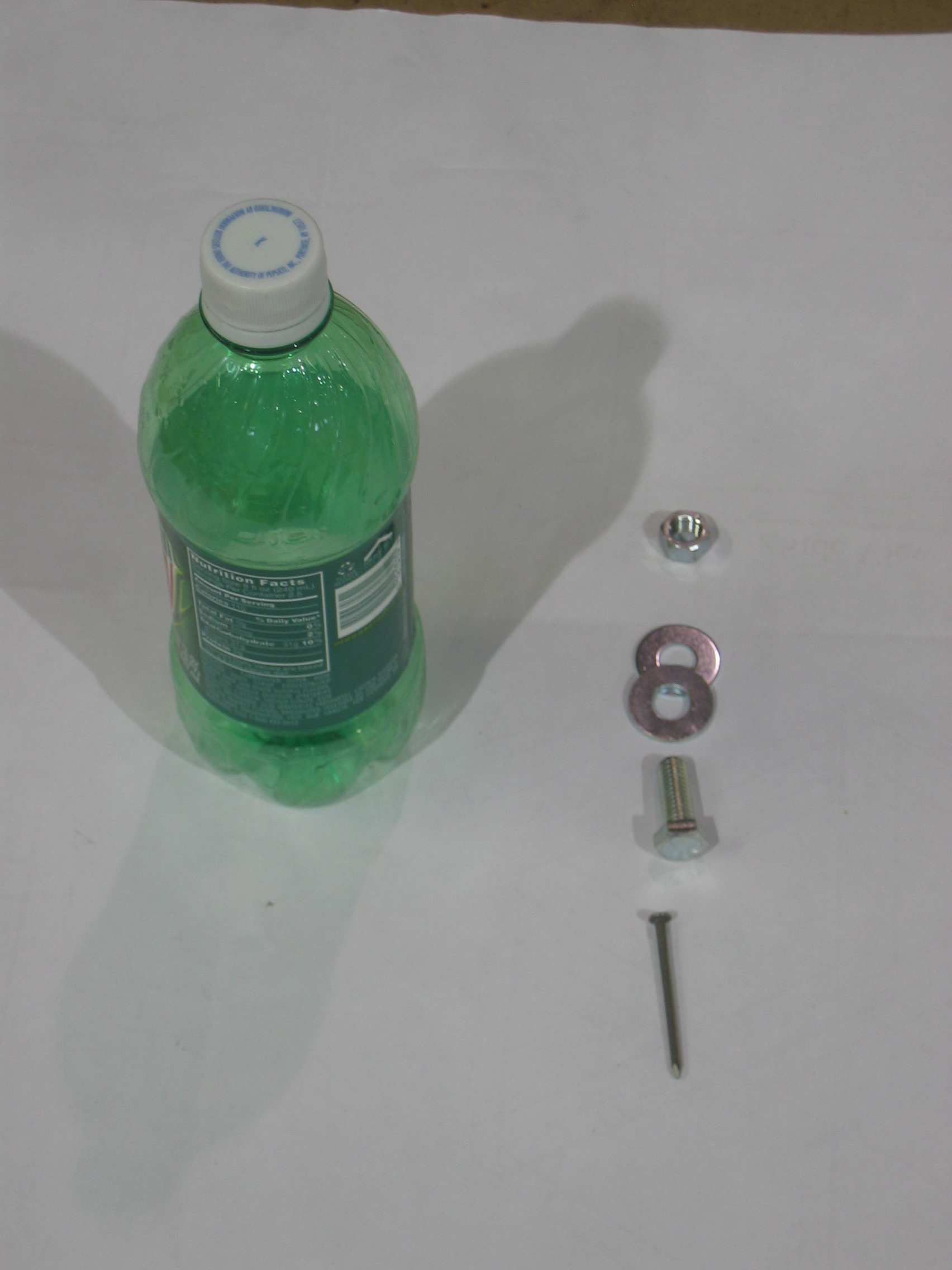 Soda Bottle Lawn Darts