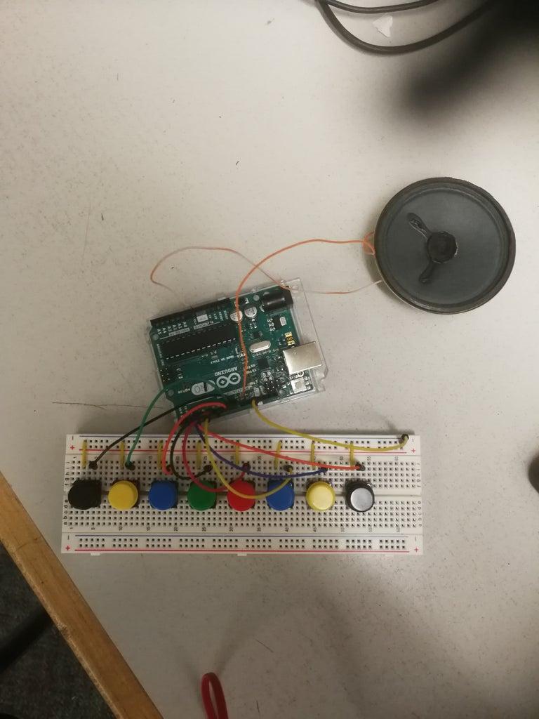 Arduino Serial Piano
