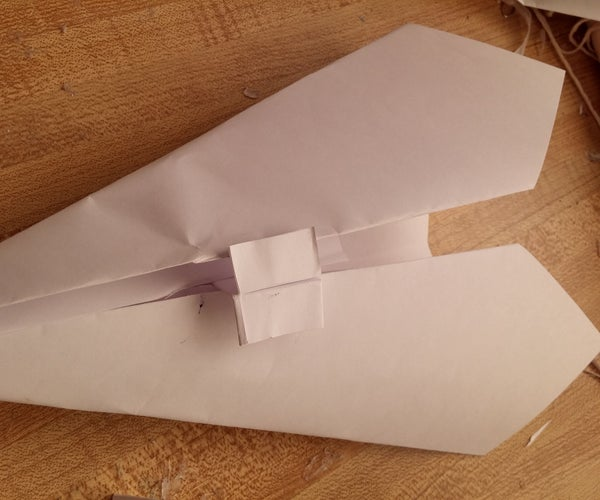 Easy-to-make Paper Flying Wing