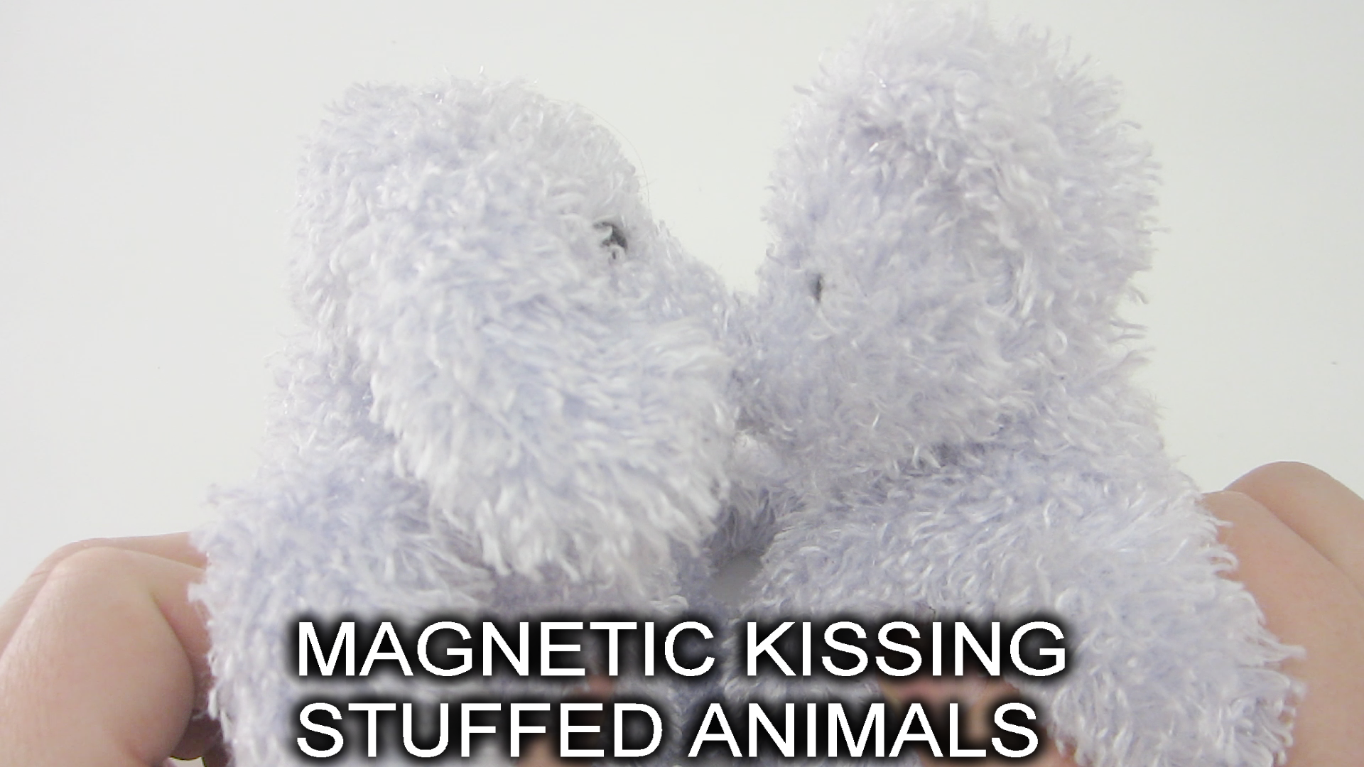Magnetic Kissing Stuffed Animals