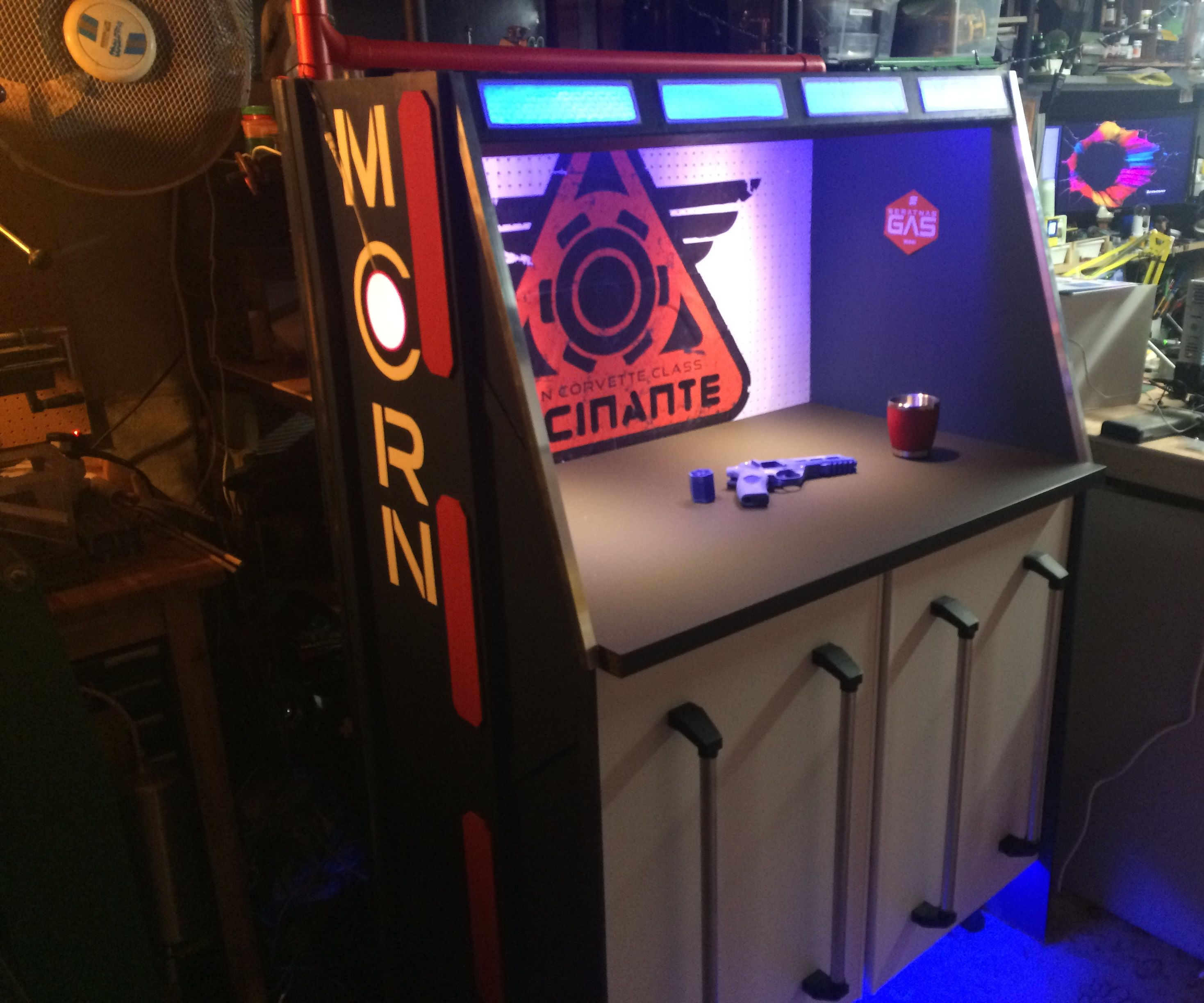 The Expanse Inspired Workbench