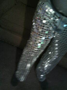 Disco Ball Pants