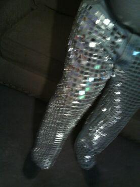 Disco Ball Pants