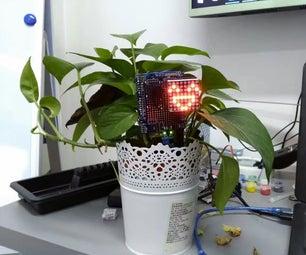 Plant Emoji Soil Moisture Detector