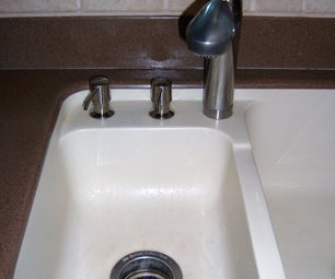 Save Water!  Kitchen Faucet With Foot Pedal