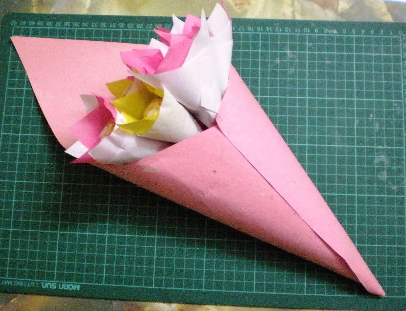 Wrap the Bouquet