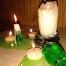 Wildfire Candles Decoration (An Instructable of Ice and FIRE){Very Cheap yet Impressive}