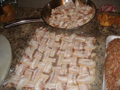 How to Make a Bacon Wrapped, Stuffed Fattie