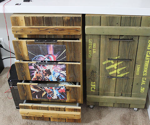 Make Ammo Box Drawer Fronts For Your Cabinets