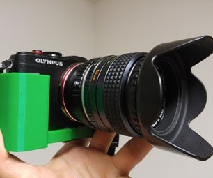3D Printed Camera Grip: From Concept to Product