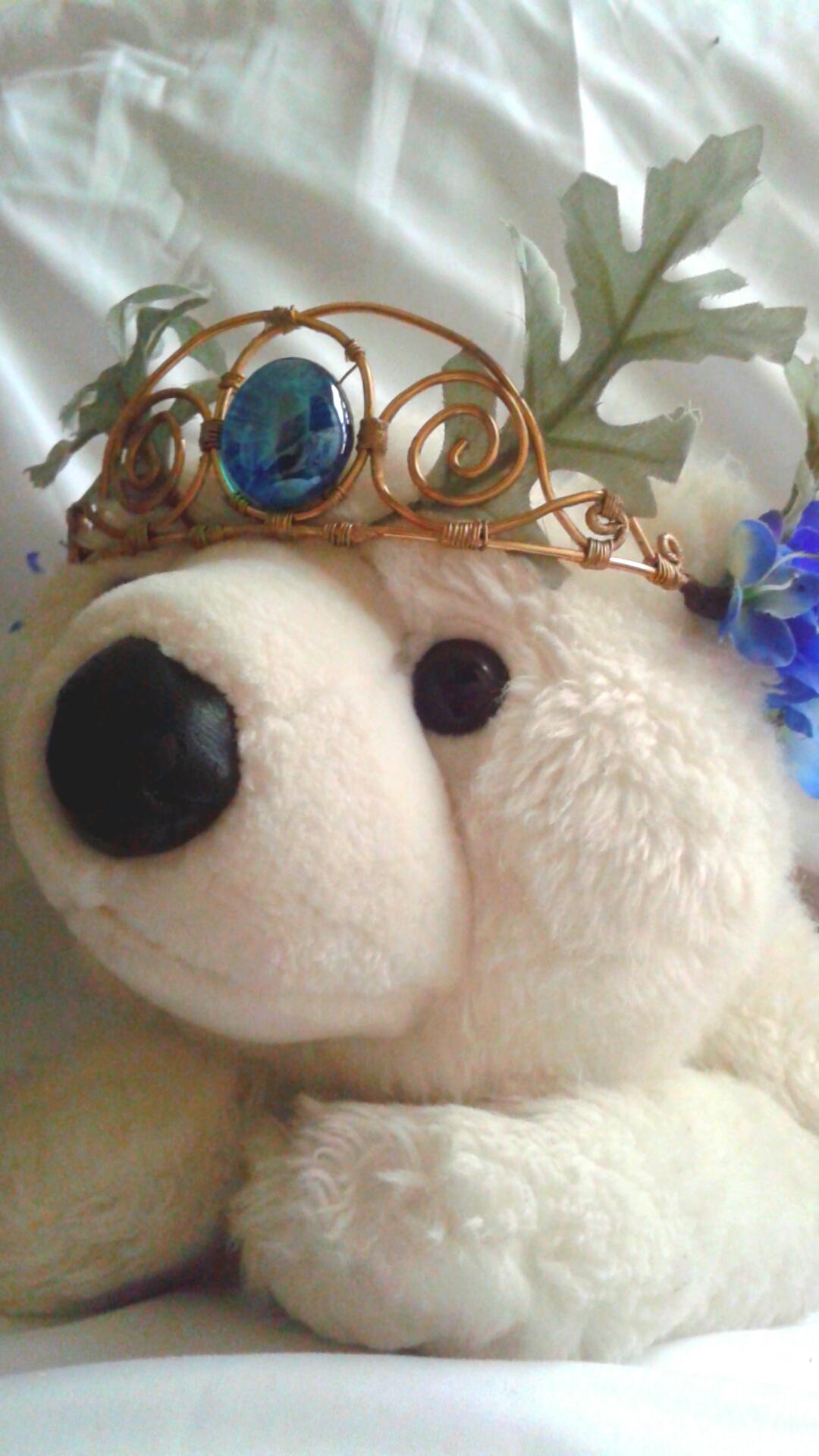 Wire Flower Crown Mix