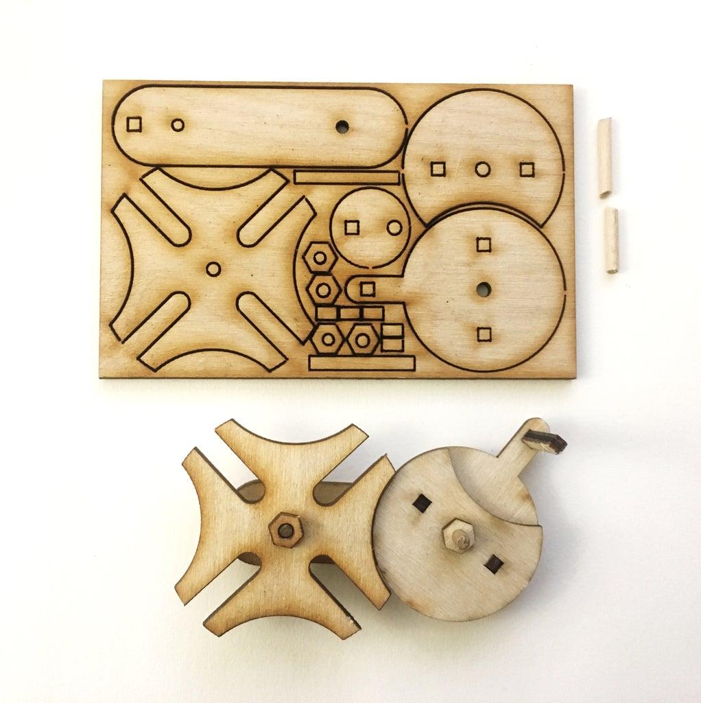 A Laser Cut Flat Pack Version