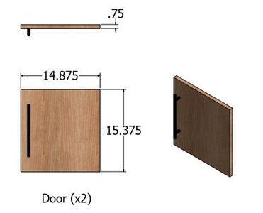 Drawing - Door