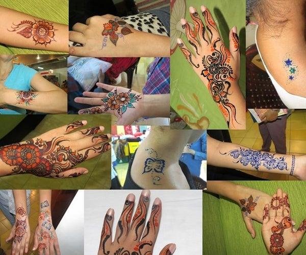 Coloured Henna
