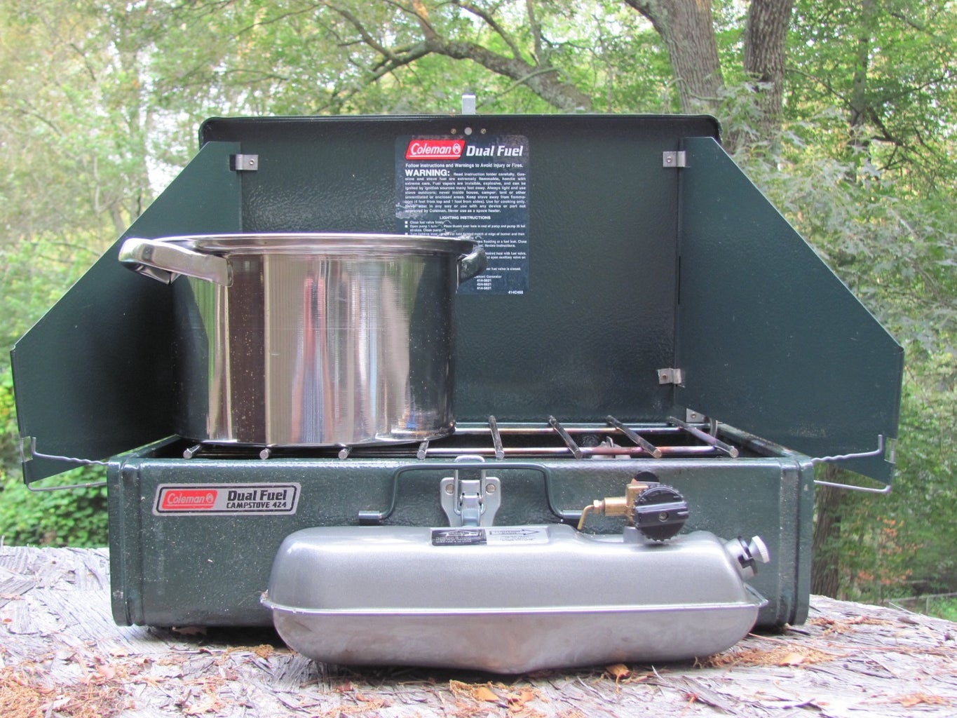Get Your Camp Stove, Basin and 'Bug Sprayer' and Enjoy Washing Your Hair!