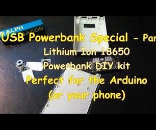 #7 USB Powerbank Special - DIY Kit With 18650 Li-ion Batteries Part 2