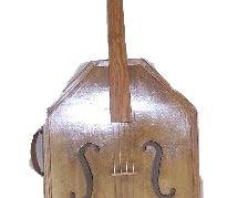 Home Made Bass Fiddle