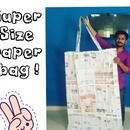 Supersize News Paper Bag