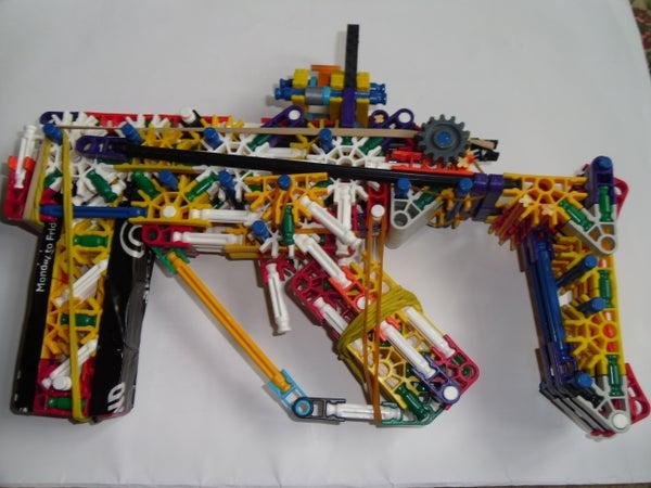 Knex Sub Machine Gun