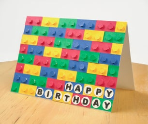 3D LEGO Card