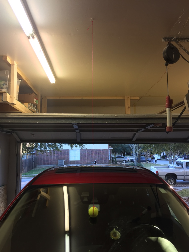 How To Hang A Tennis Ball In Your Garage Without Using A Ladder Next To The Car 4 Steps With Pictures Instructables