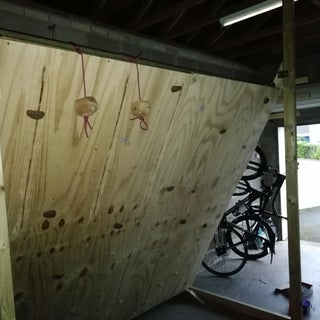 Freestanding Indoor Rock Climbing Wall for $150