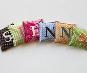 Lettered Beanbags