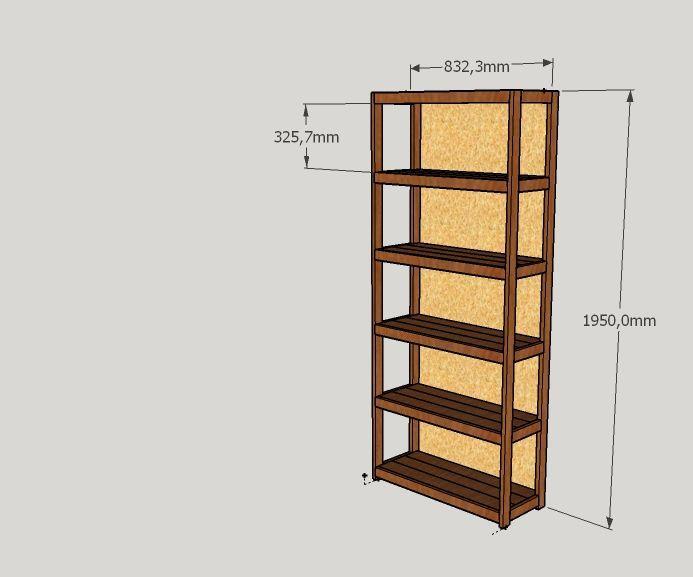 Home Made Bookshelf