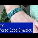 How to Make a Morse Code Bracelet on a Bead Loom