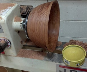 EZ Bowl From 1 Board on the Lathe