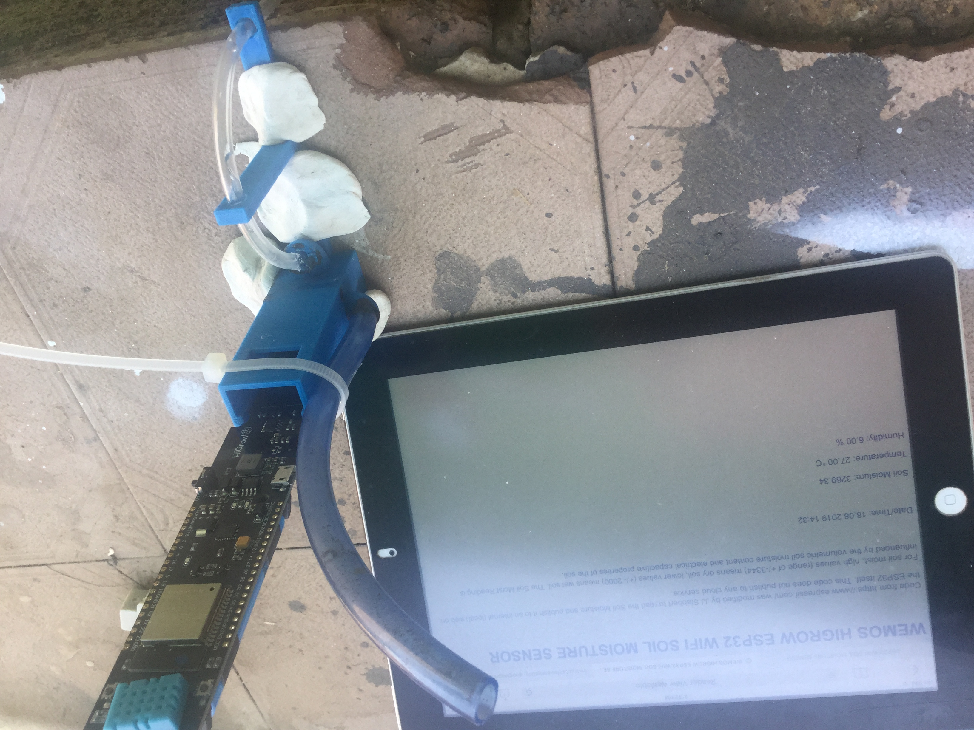 Wireless Soil Moisture Sensor