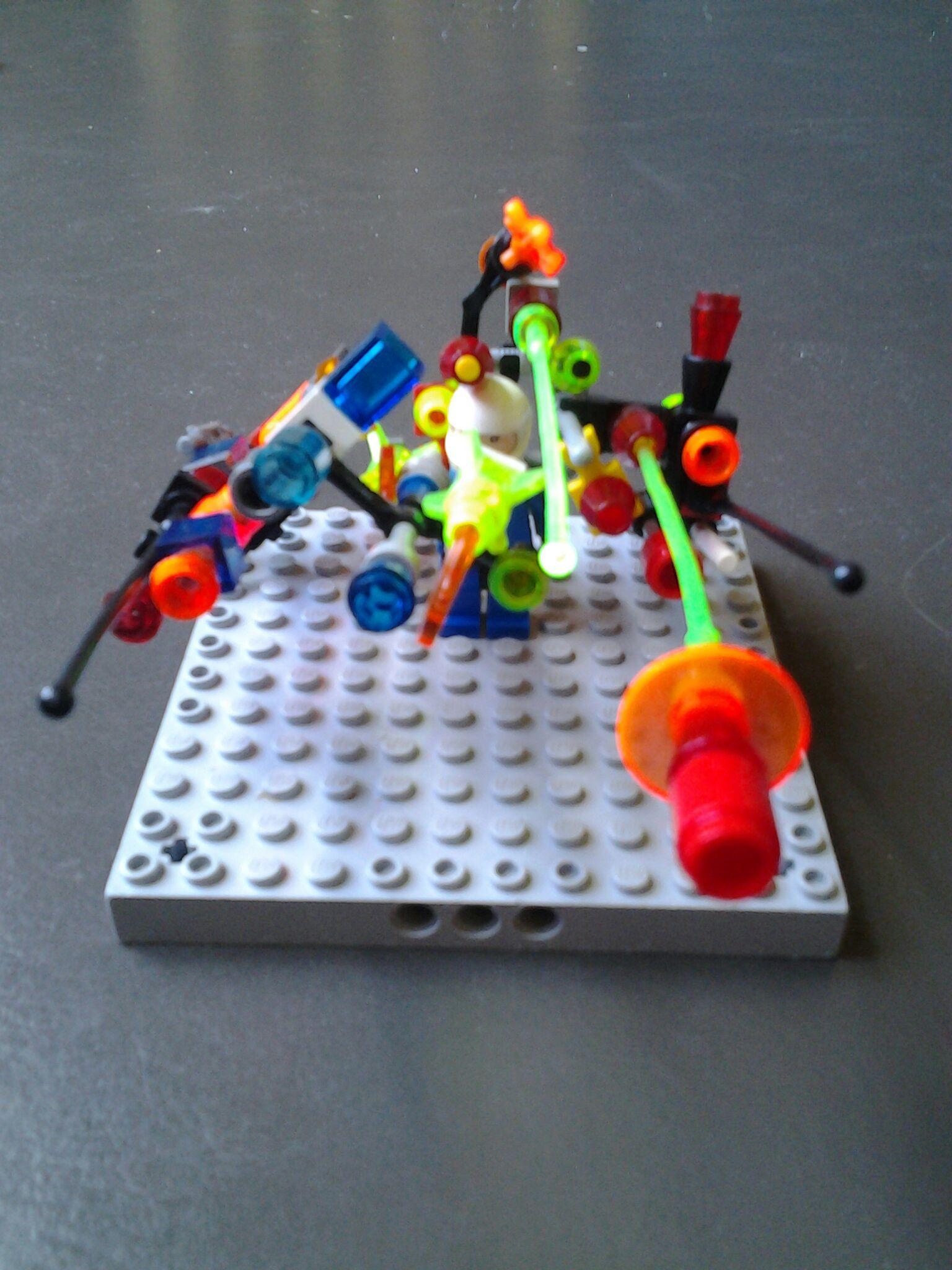 huge lego gun